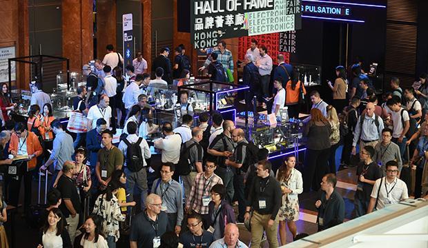 홍콩 전자전 추계 (HKTE)에는 지난해 약 4,000개 기업이 부스 참가했습니다.