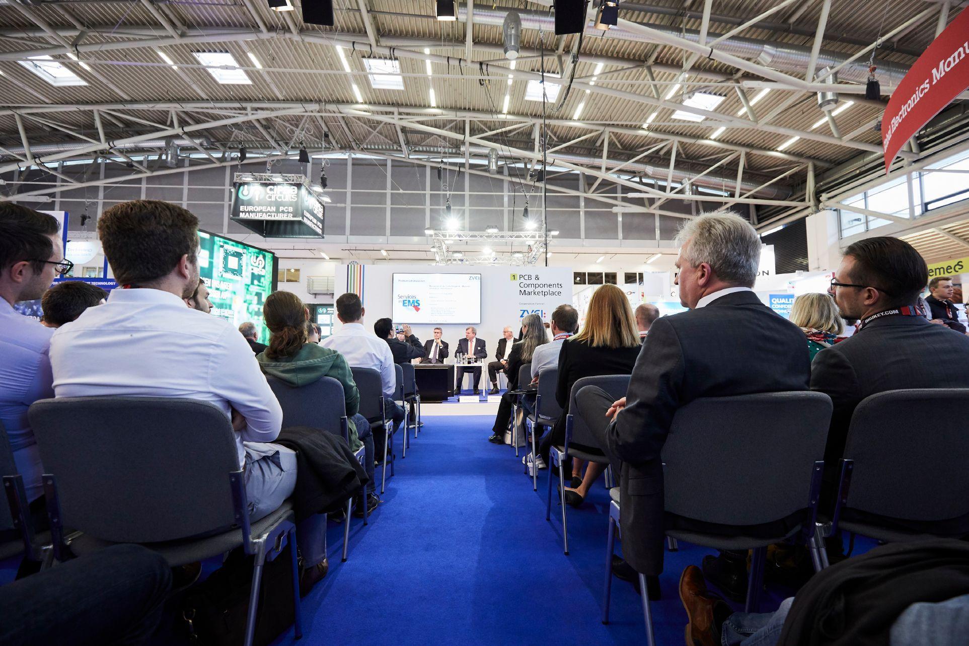 독일 뮌헨 국제 전자부품 박람회(electronica)와 동시개최하는 컨퍼런스 진행 현장입니다.