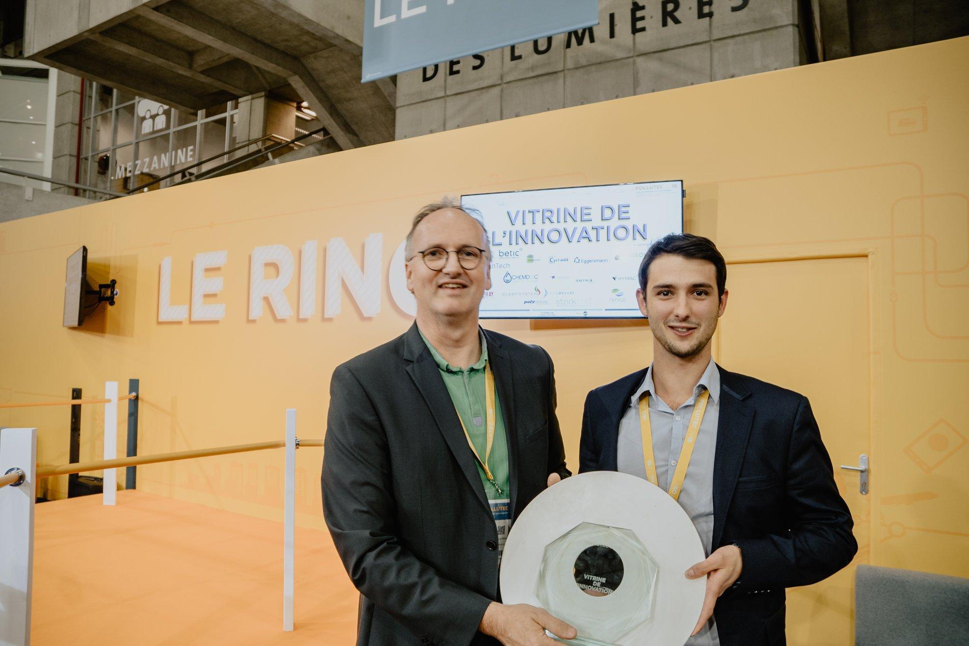 프랑스 리옹 환경 산업 박람회(Pollutec)에서 진행하는 에코 이노베이션 경연대회에는 환경 관련한 프로젝트 기업이 참여할 수 있습니다.